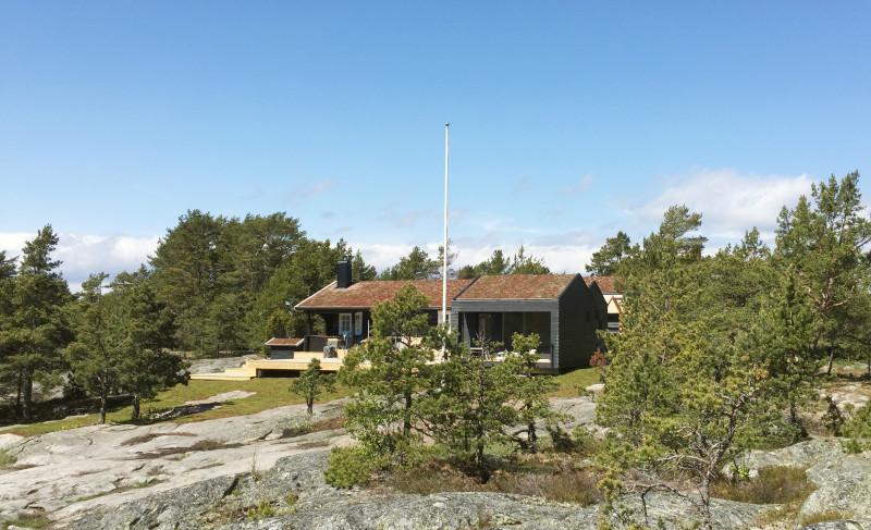 Smygtitt på tillbyggnad i Stockholms skärgård