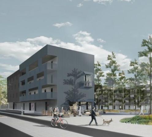 Student apartments in Umeå