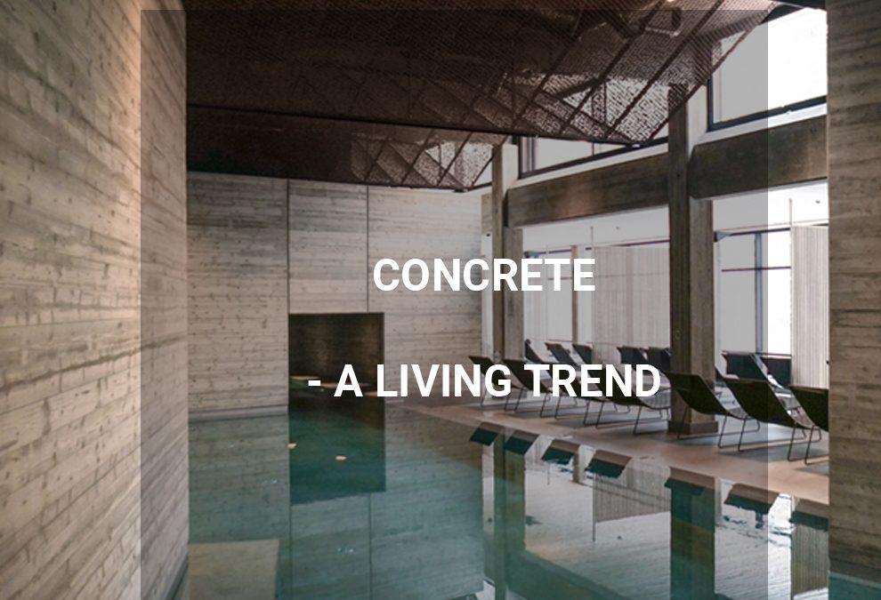 DAP + mäklarhuset   Concrete a living trend