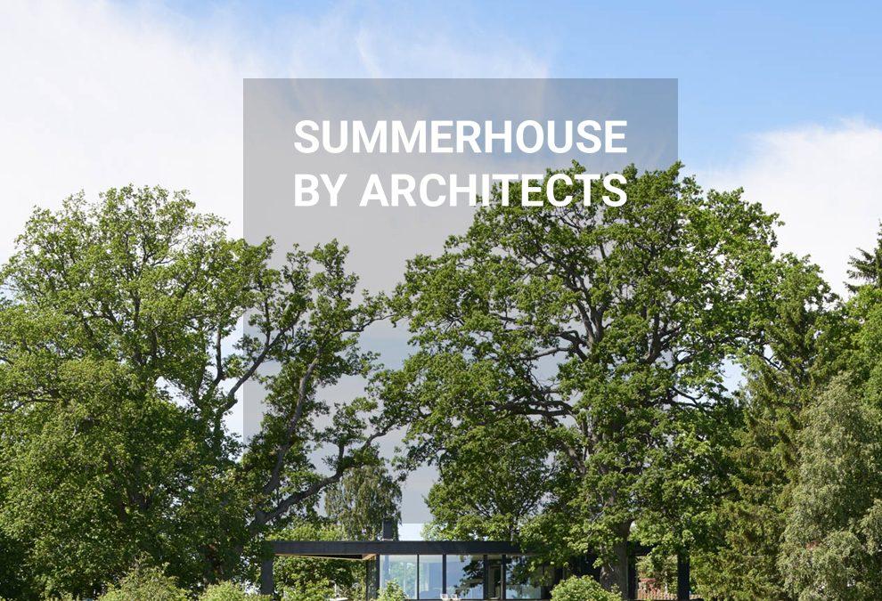 DAP + Mäklarhuset   Summerhouse by architects